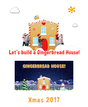 Let's build a Gingerbresd House.
